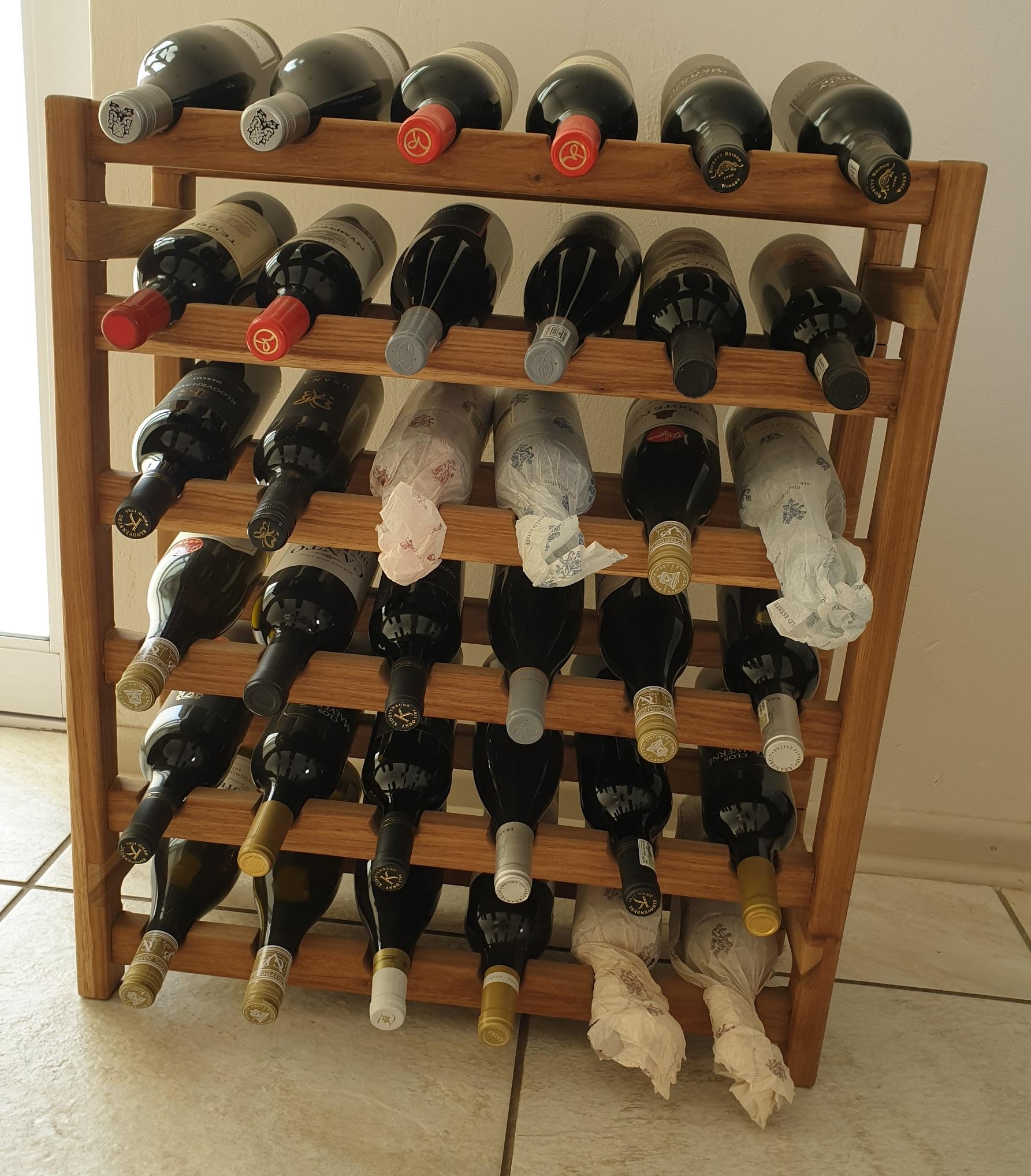 Wine Racks.
