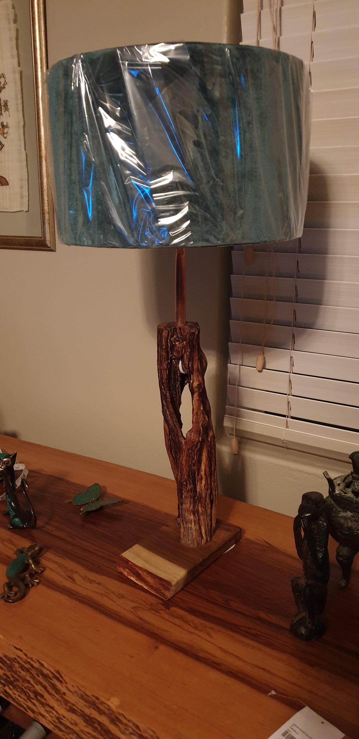 My firewood lamp.