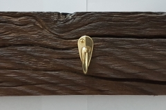 triple coat hook