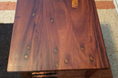 Sleeper  Wood Table - Top View