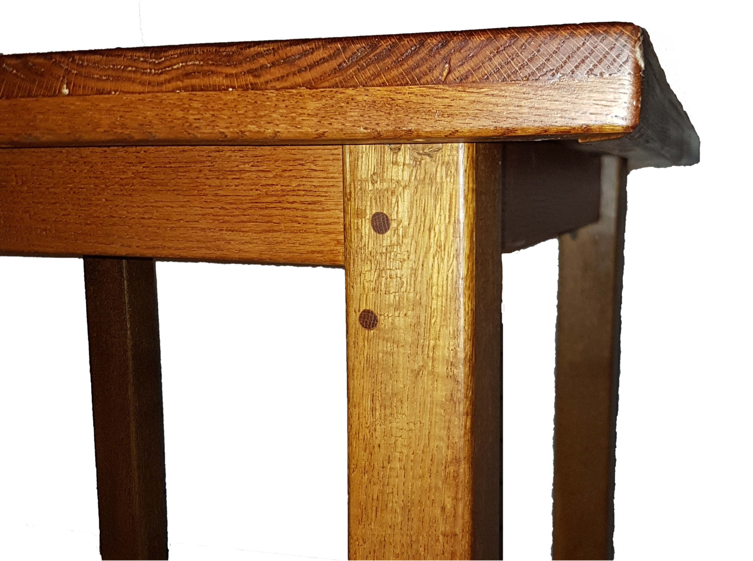 oak table side