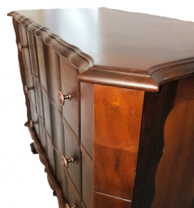 Beautifully restored with a patina to match its age.
