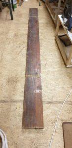 Laminated construction plank